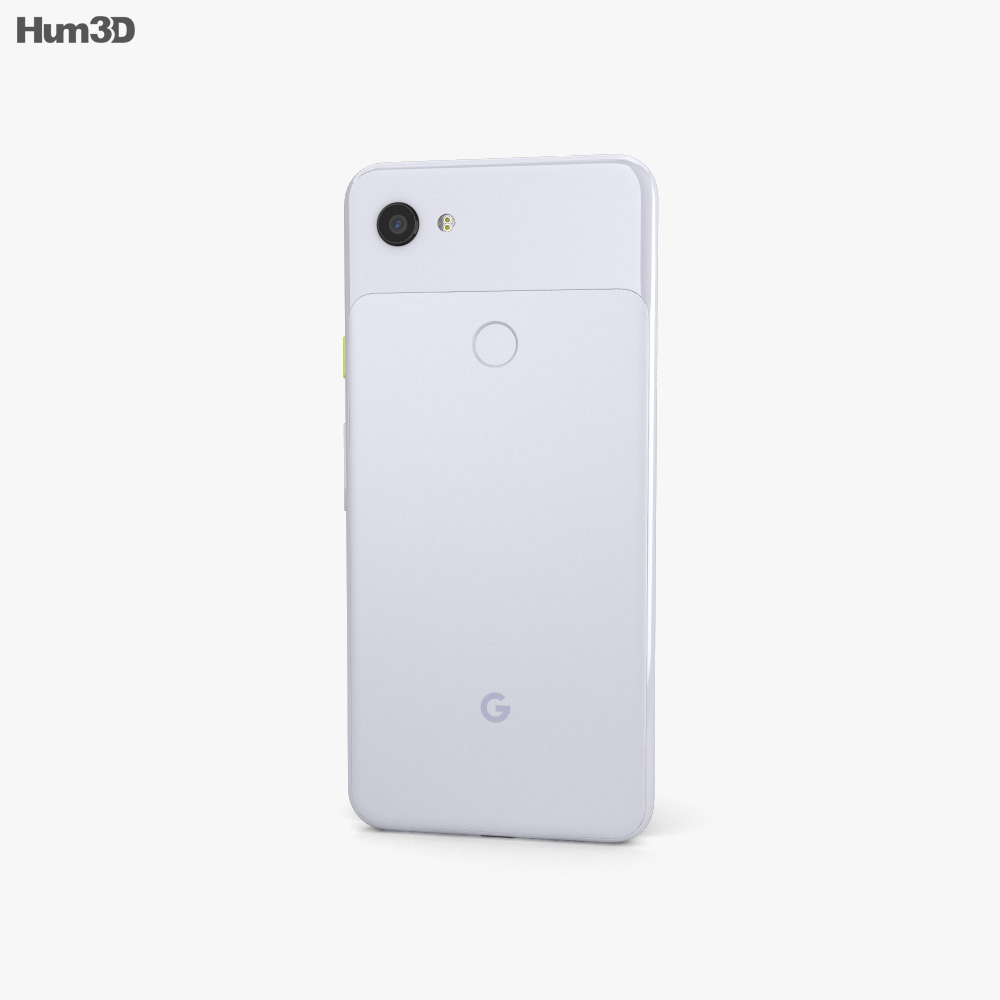 Google Pixel 3a Purple-ish 3d model