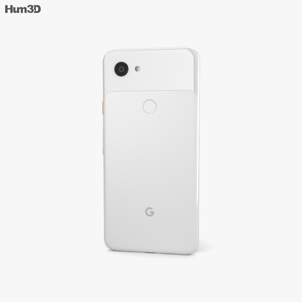 Google Pixel 3a XL Clearly White 3d model