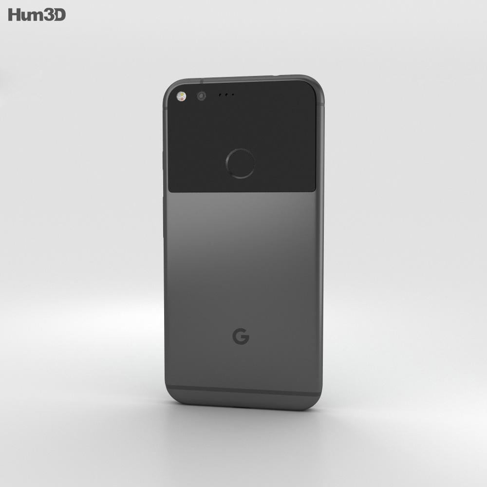 Google Pixel XL Very Black 3d model