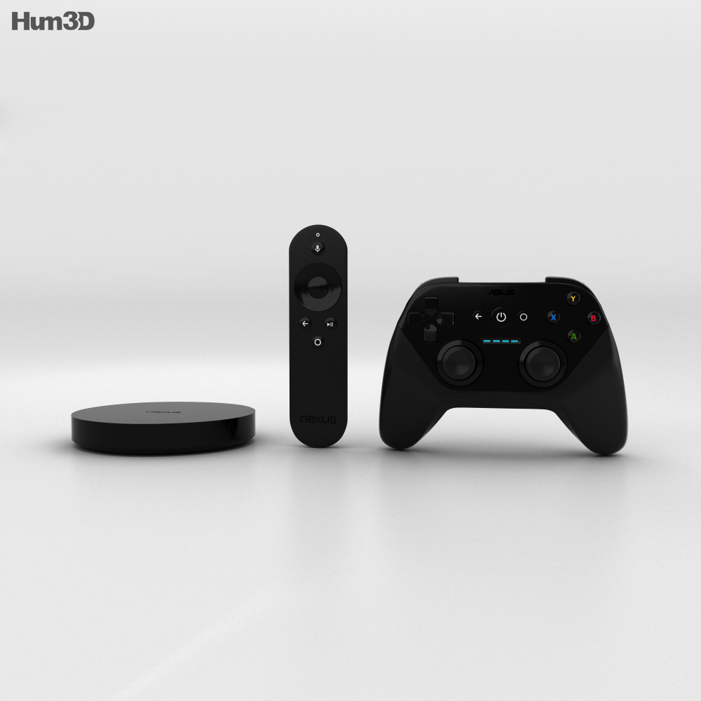The Nexus Player 3d model