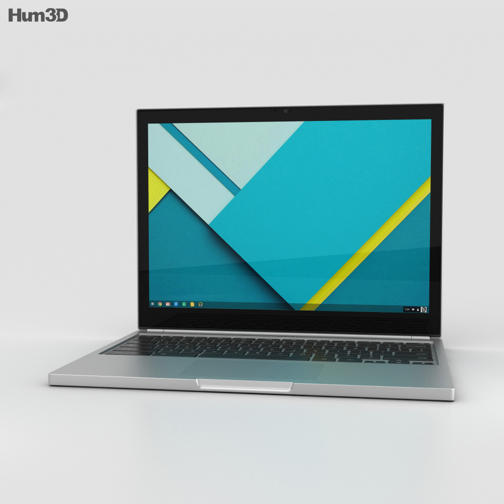 Google Chromebook Pixel 2015 3d model