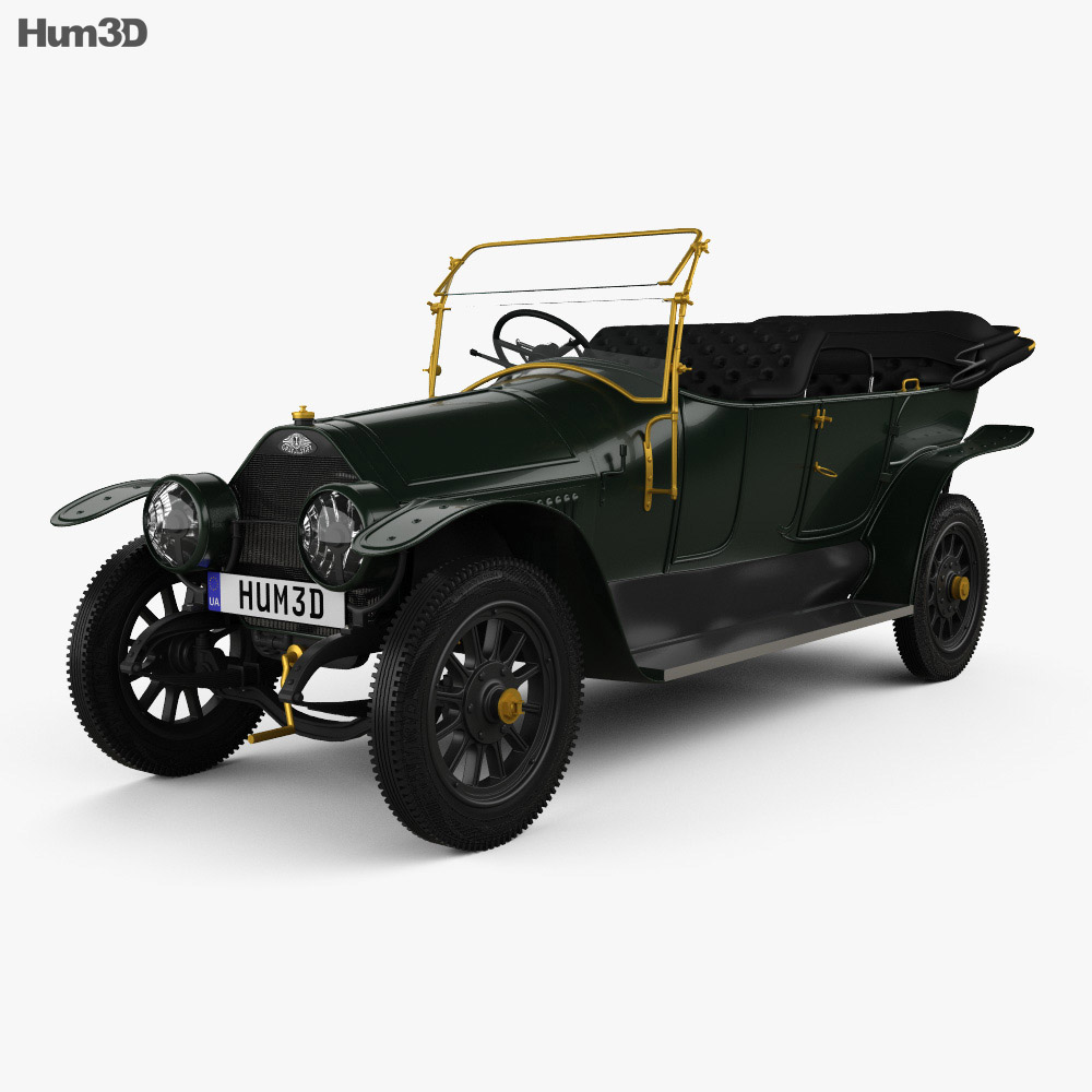 3D model of Graf & Stift Double Phaeton 1911