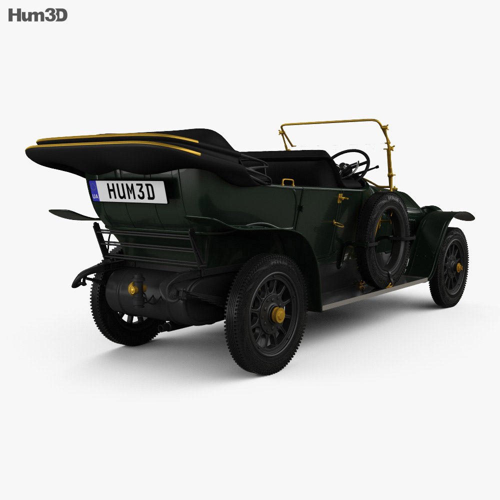 Graf & Stift Double Phaeton 1911 3d model
