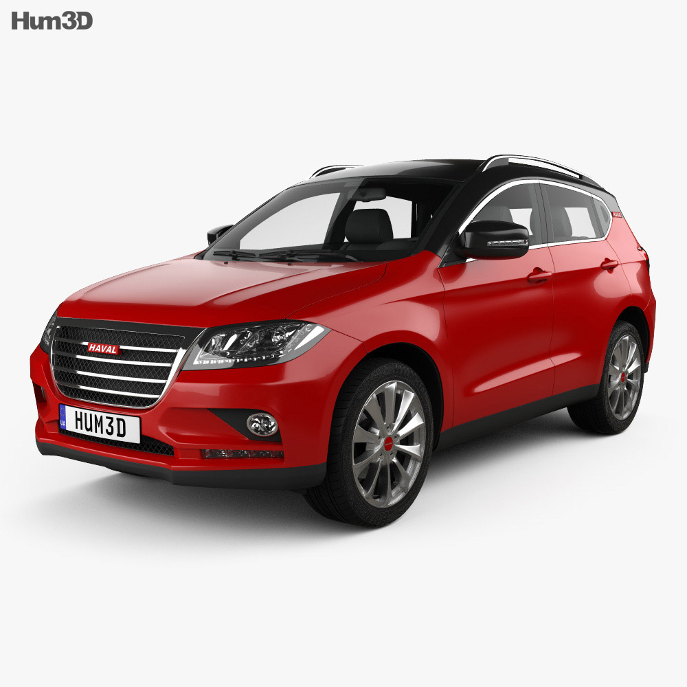 Great Wall Haval H2 2014 3d model