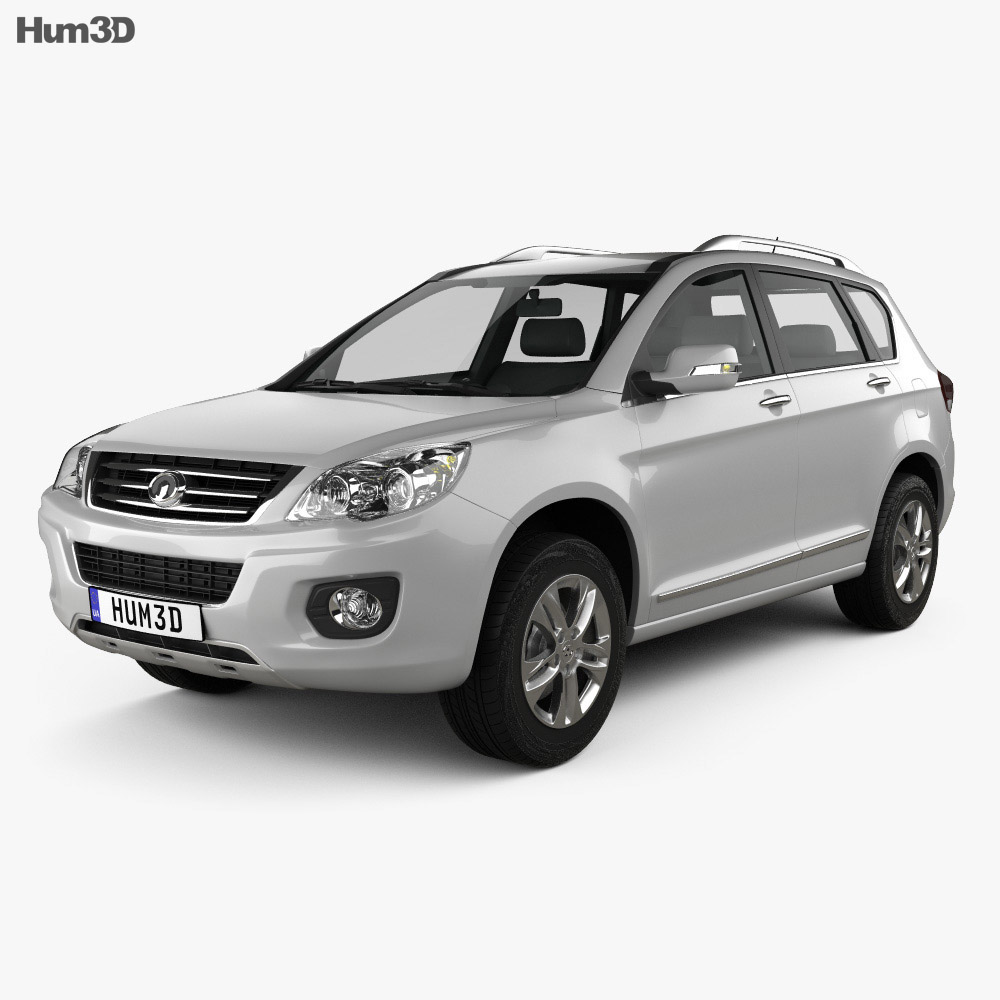 Great Wall Hover (Haval) H6 2013 3d model