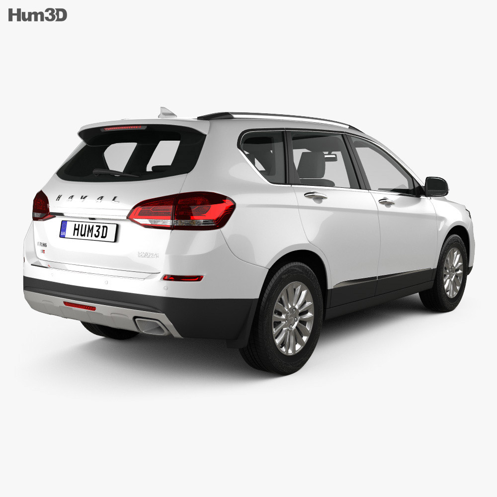 Great Wall Haval H6 2018 3d model