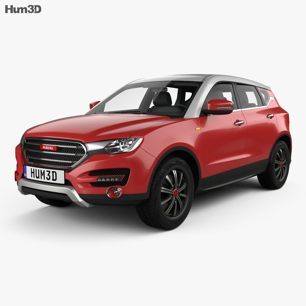 Great Wall Haval H7 2014 3d model