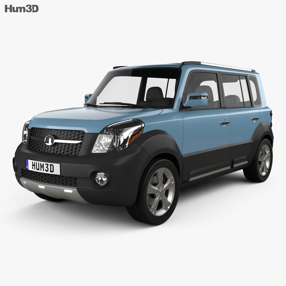 Great Wall Haval M2 2012 3d model