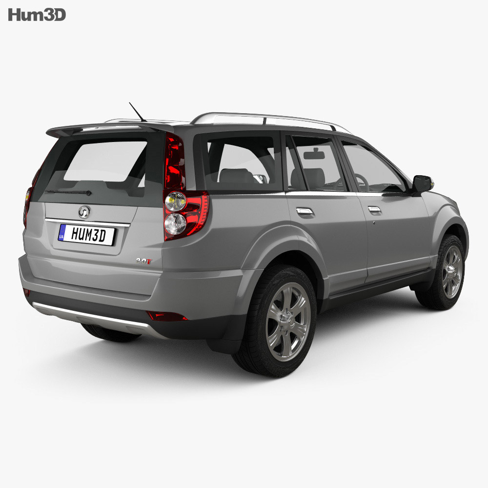 Great Wall Hover H3 2014 3d model