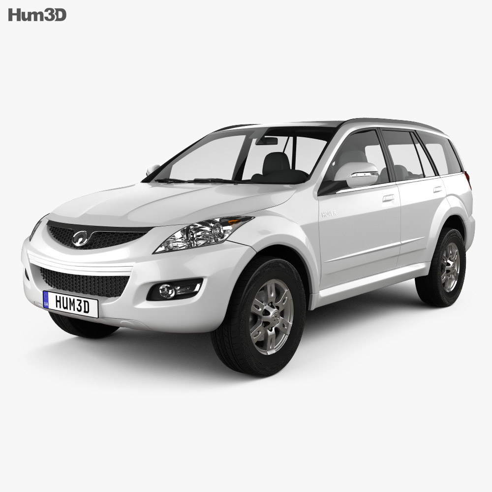 Great Wall Hover (Haval) H5 2012 3d model