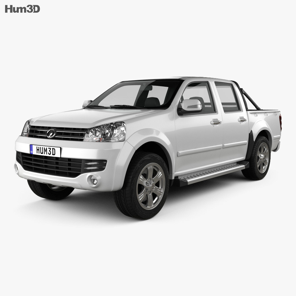 Great Wall Wingle 5 (EU) 2013 3d model