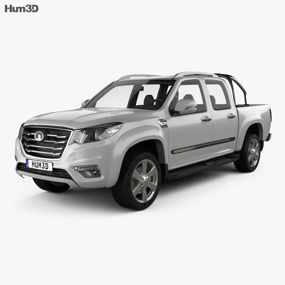 Great Wall Wingle 6 2014 3d model