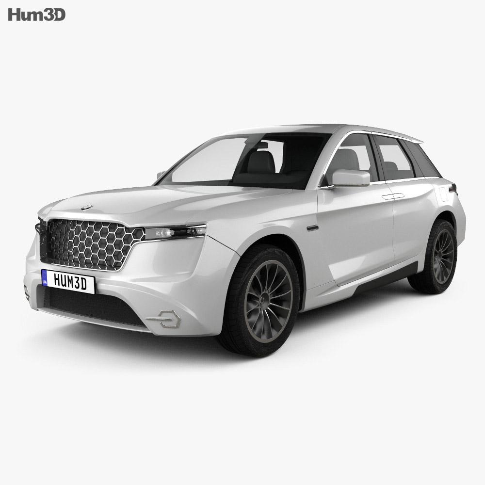 Grove Obsidian SUV 2020 3d model