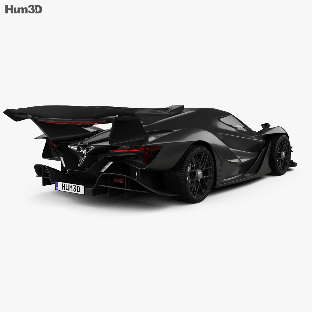 Apollo Intensa Emozione 2019 3d model