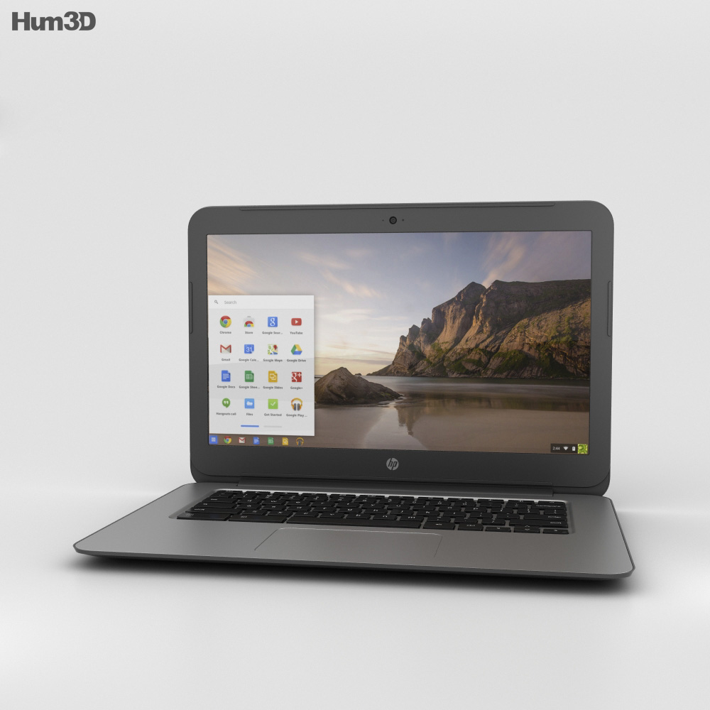 HP Chromebook 14 G4 3d model