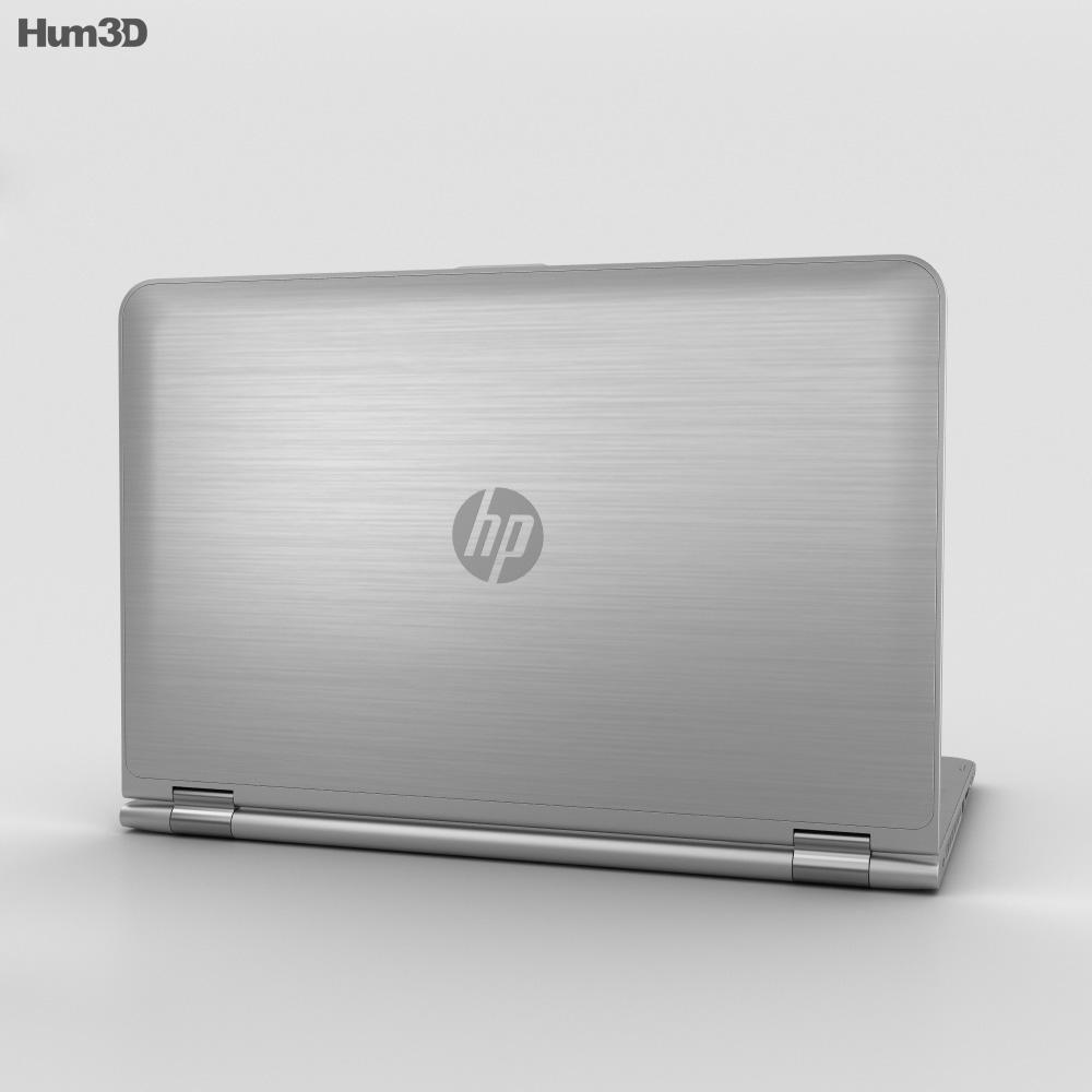 HP ENVY x360 3d model