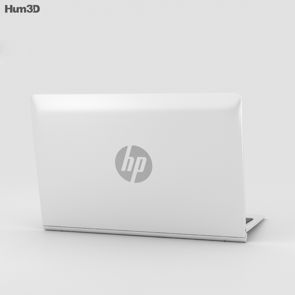 HP Pavilion x2 10t Blizzard White 3d model