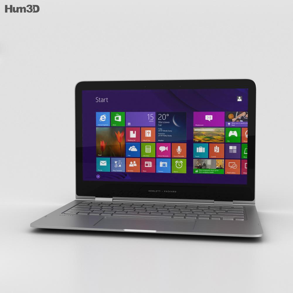 HP Spectre X360 3d model