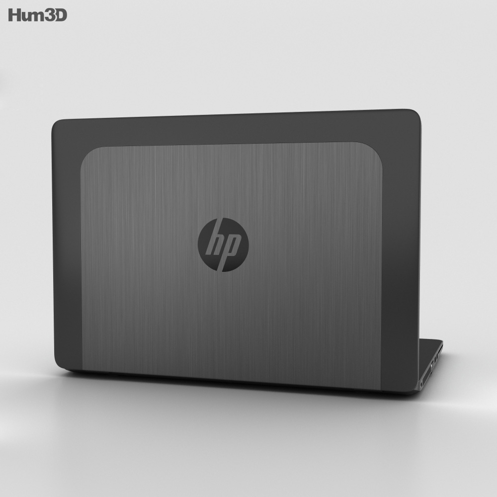 HP ZBook 14 G2 Mobile Workstation 3d model
