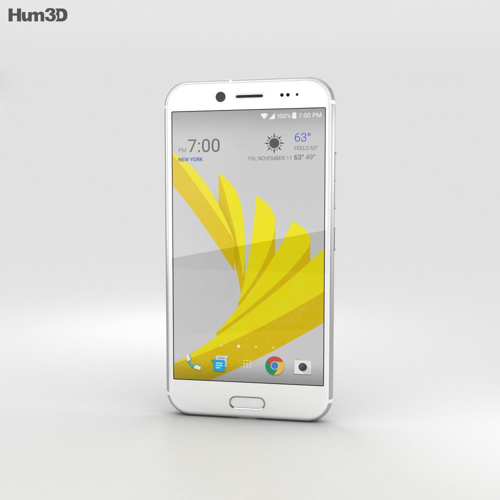 HTC Bolt Silver 3d model