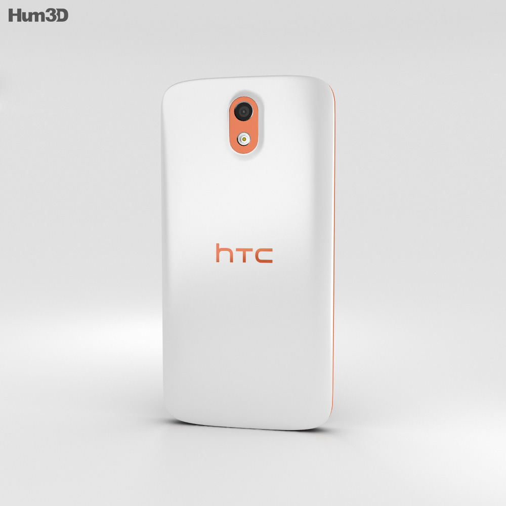 HTC Desire 526G+ Fervor Red 3d model