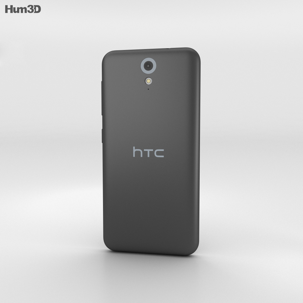 HTC Desire 620G Milkyway Gray 3d model