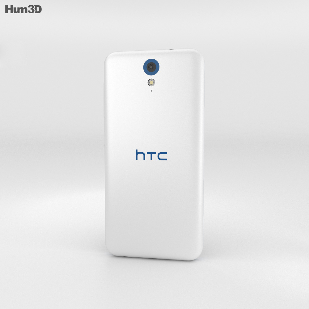 HTC Desire 620G Santorini White 3d model