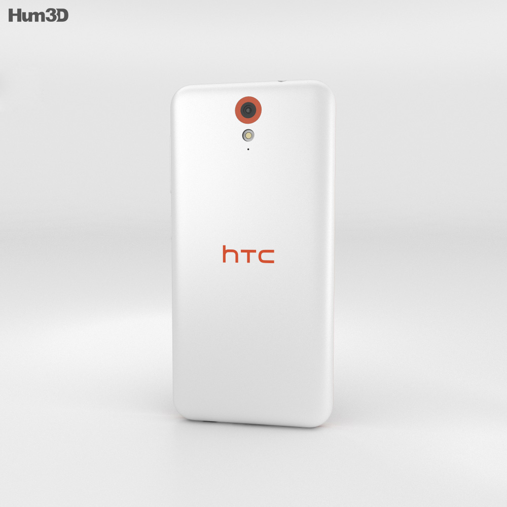 HTC Desire 620G Tangerine White 3d model
