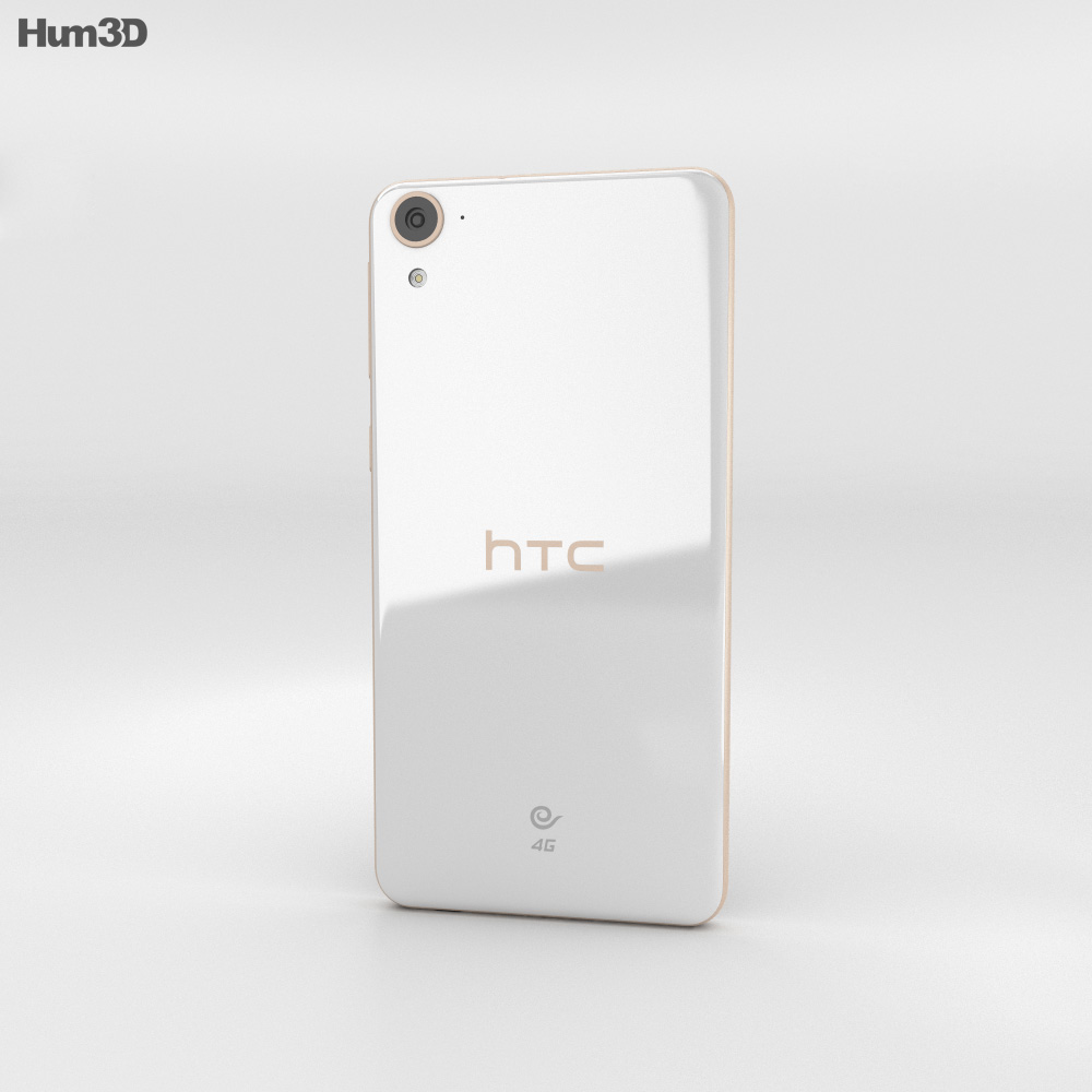 HTC Desire 826 White Birch 3d model