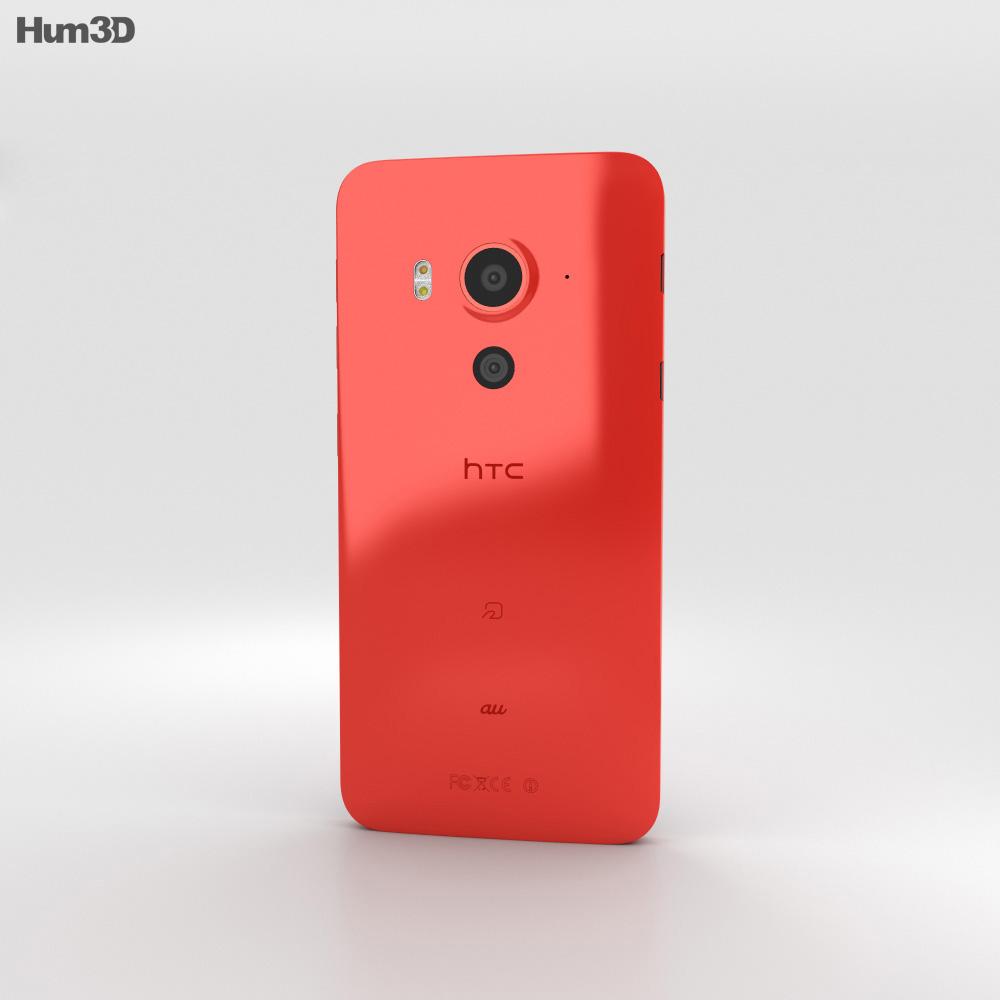 HTC J Butterfly 3 Red 3d model