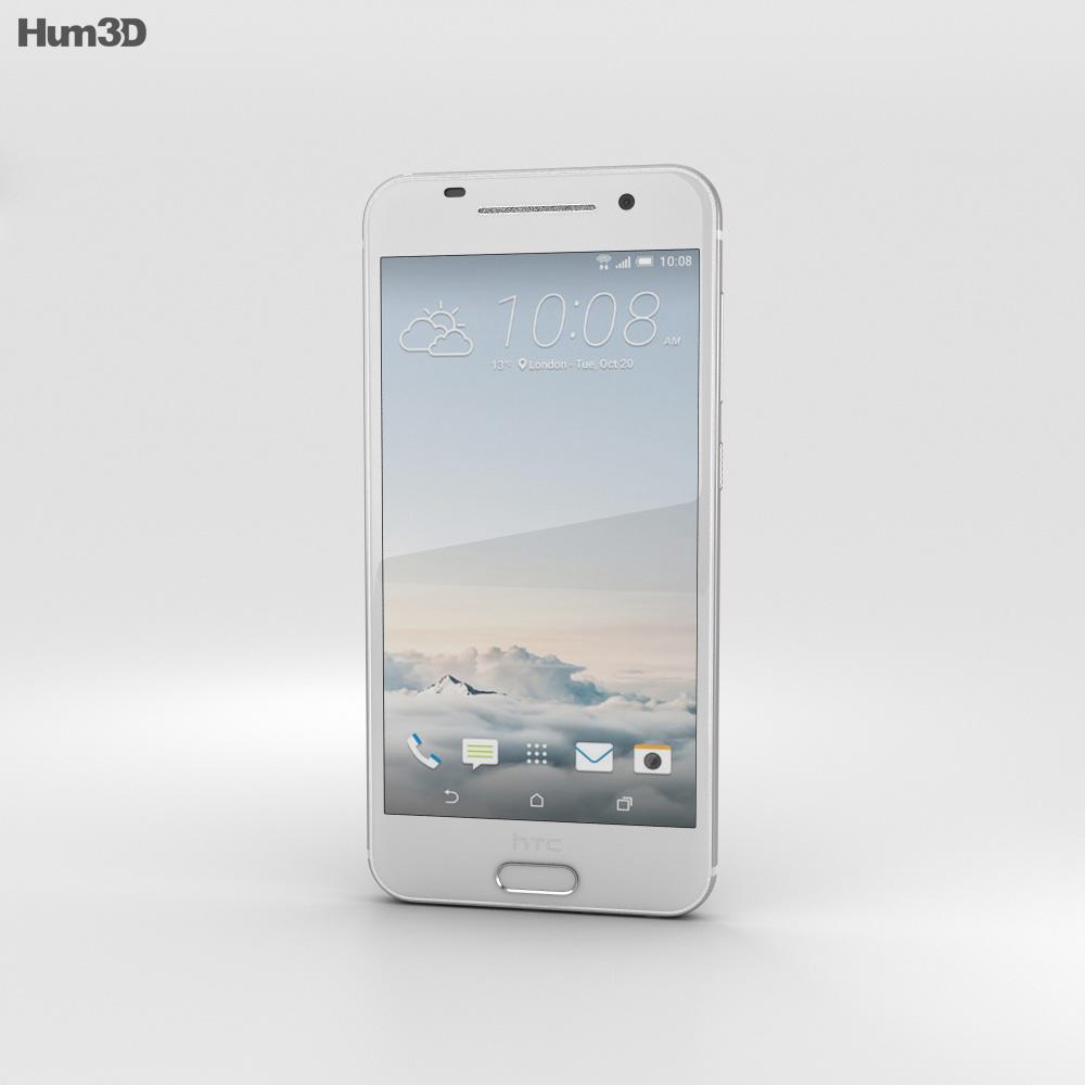 HTC One A9 Opal Silver 3d model