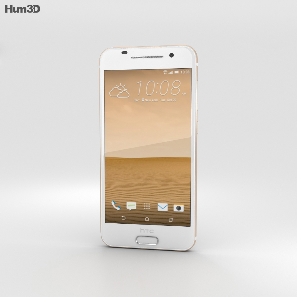 HTC One A9 Topaz Gold 3d model
