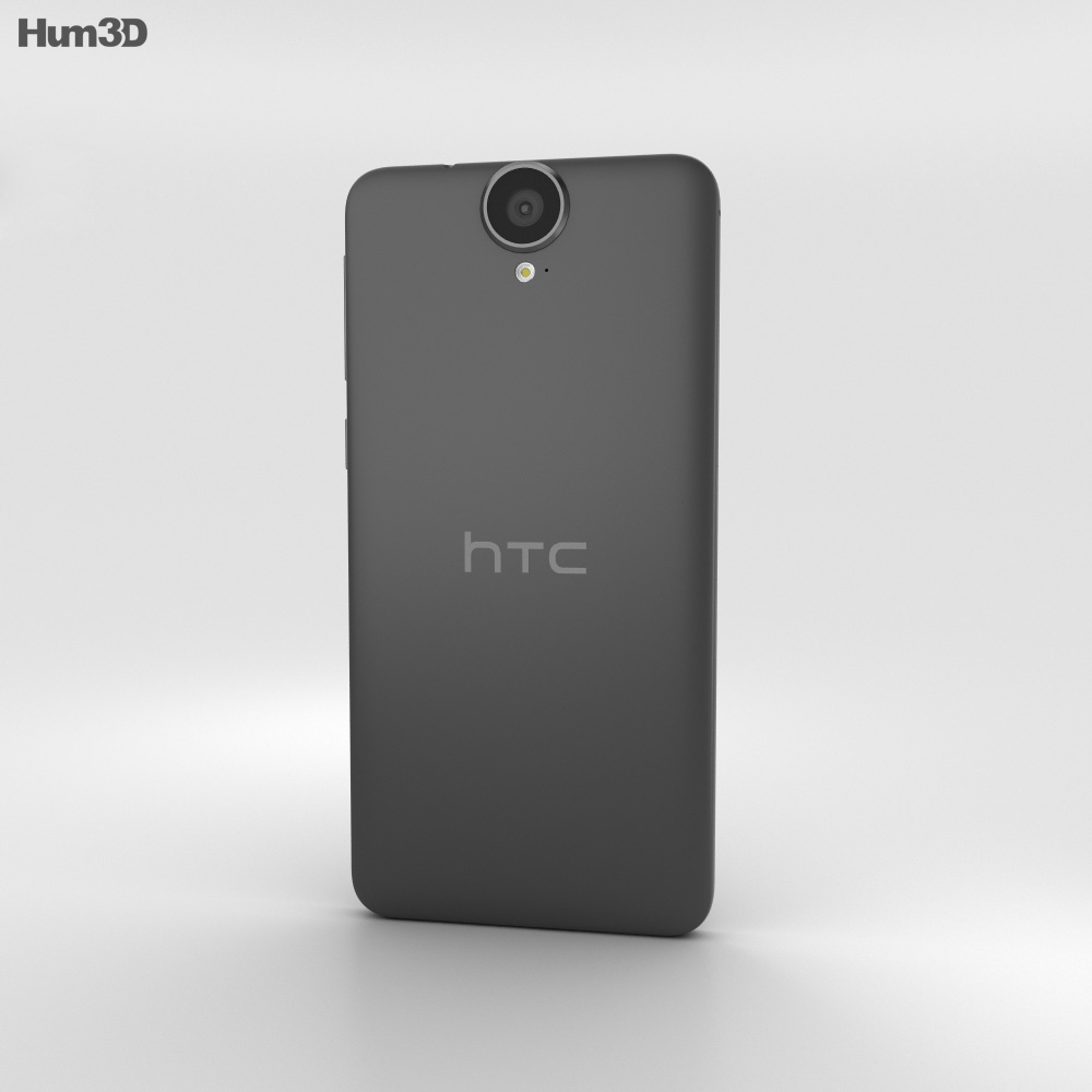 HTC One E9+ Meteor Gray 3d model