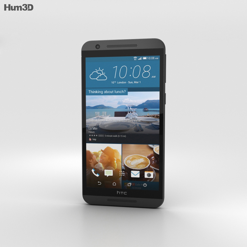 HTC One E9s Dual Sim Meteor Gray 3d model