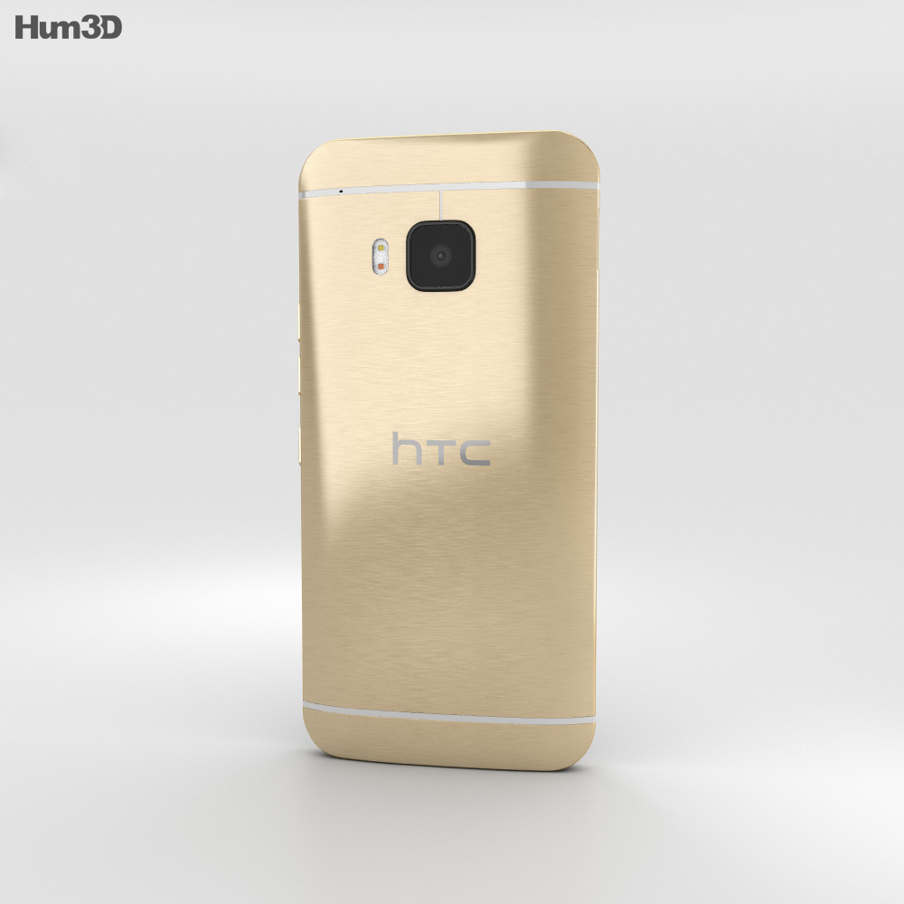 HTC One (M9) Amber Gold 3d model