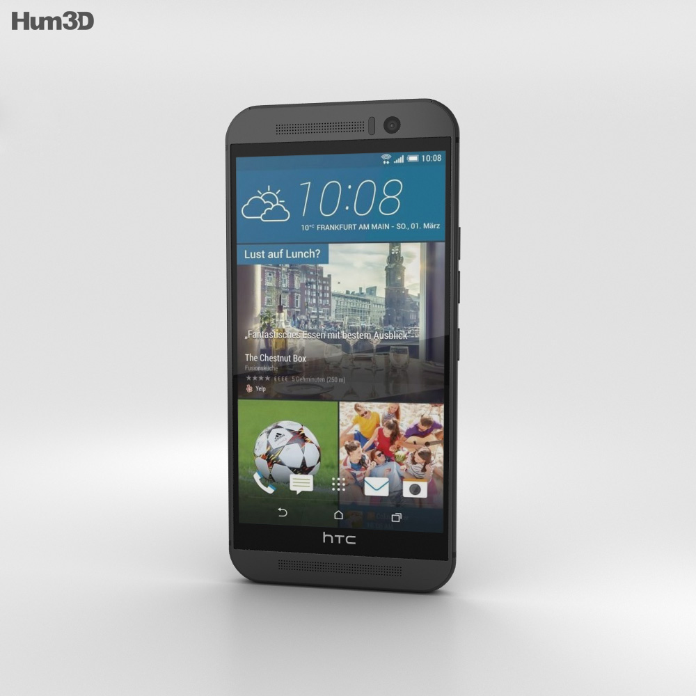 HTC One (M9) Gunmetal Gray 3d model