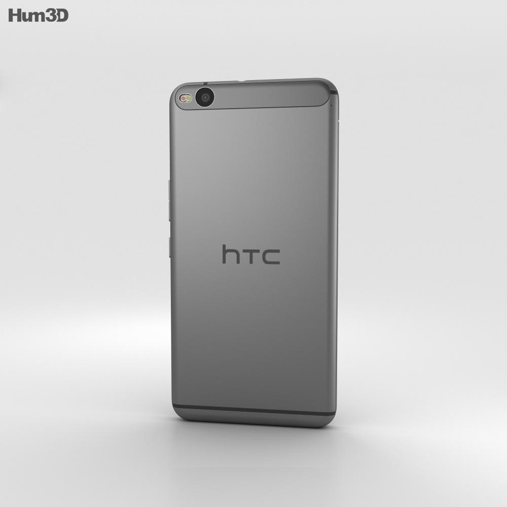 HTC One X9 Black 3d model