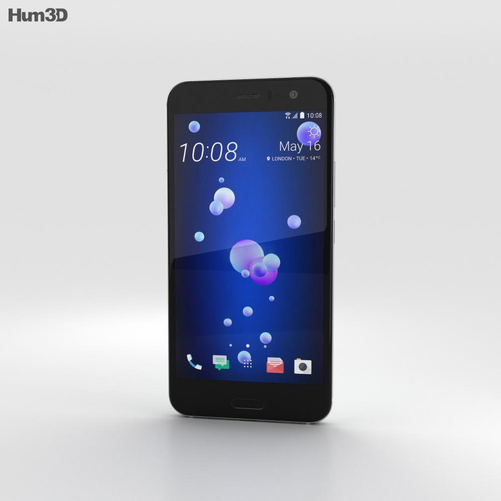 HTC U11 Ice White 3d model