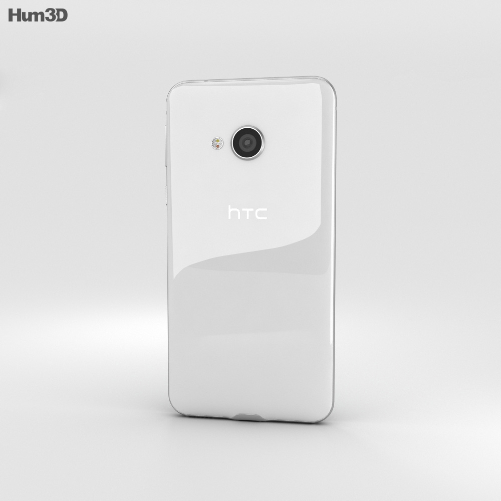 HTC U Play Ice White 3d model