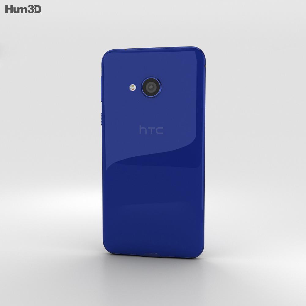 HTC U Play Sapphire Blue 3d model