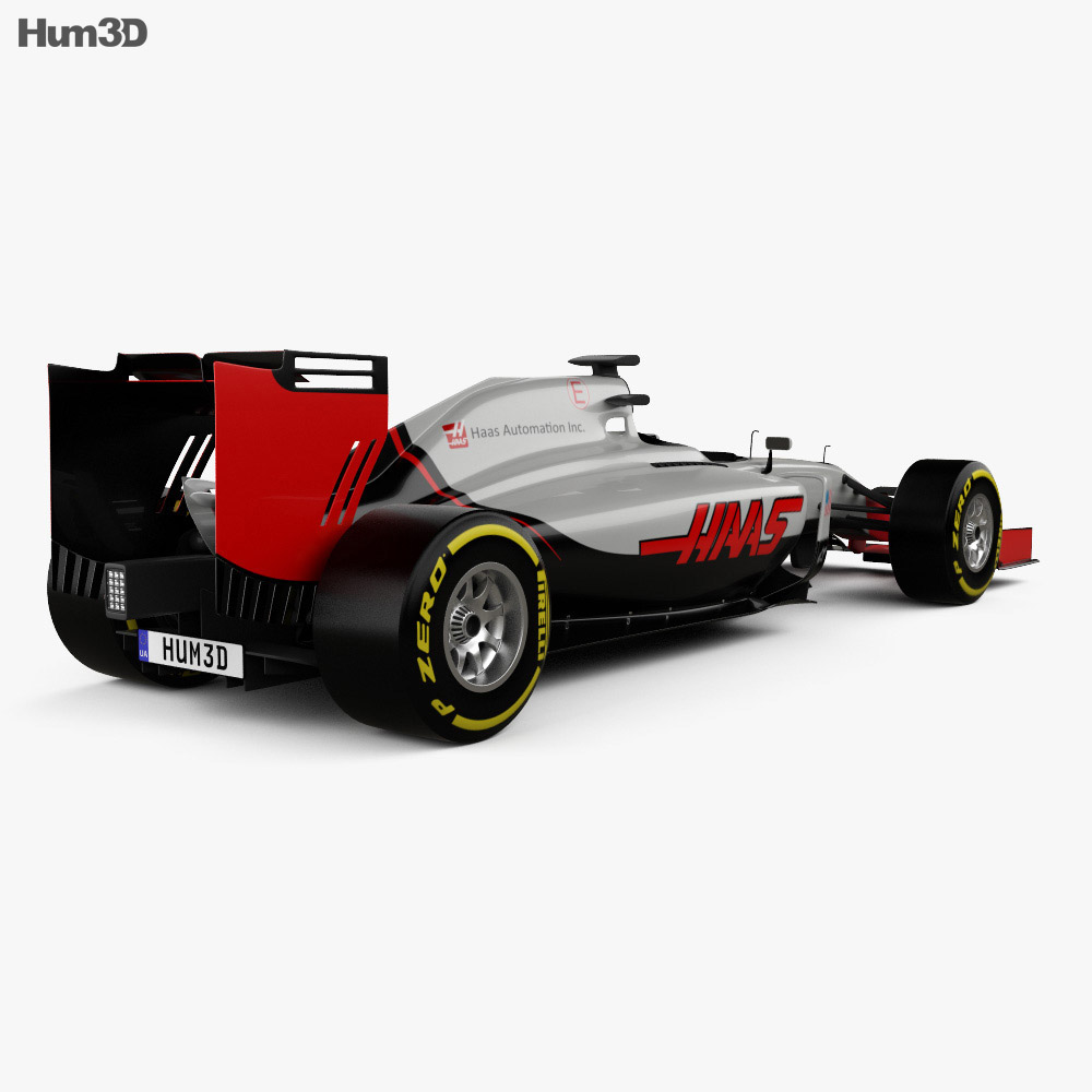 Haas VF-16 F1 2016 3d model