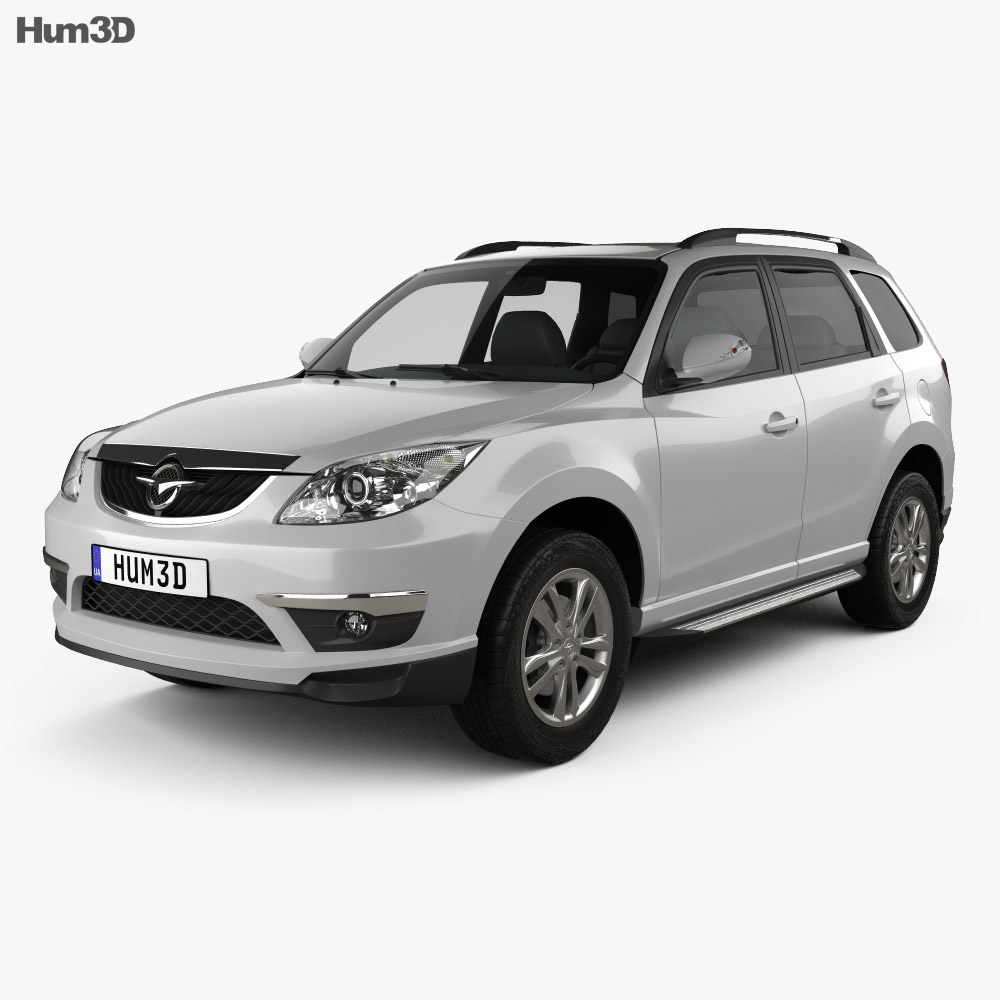Haima 7 2011 3d model