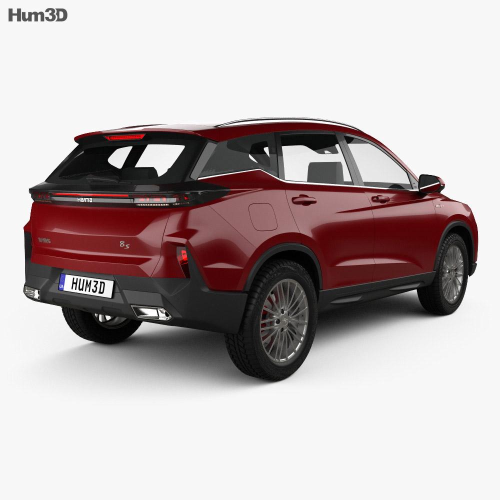 Haima 8S 2019 3d model