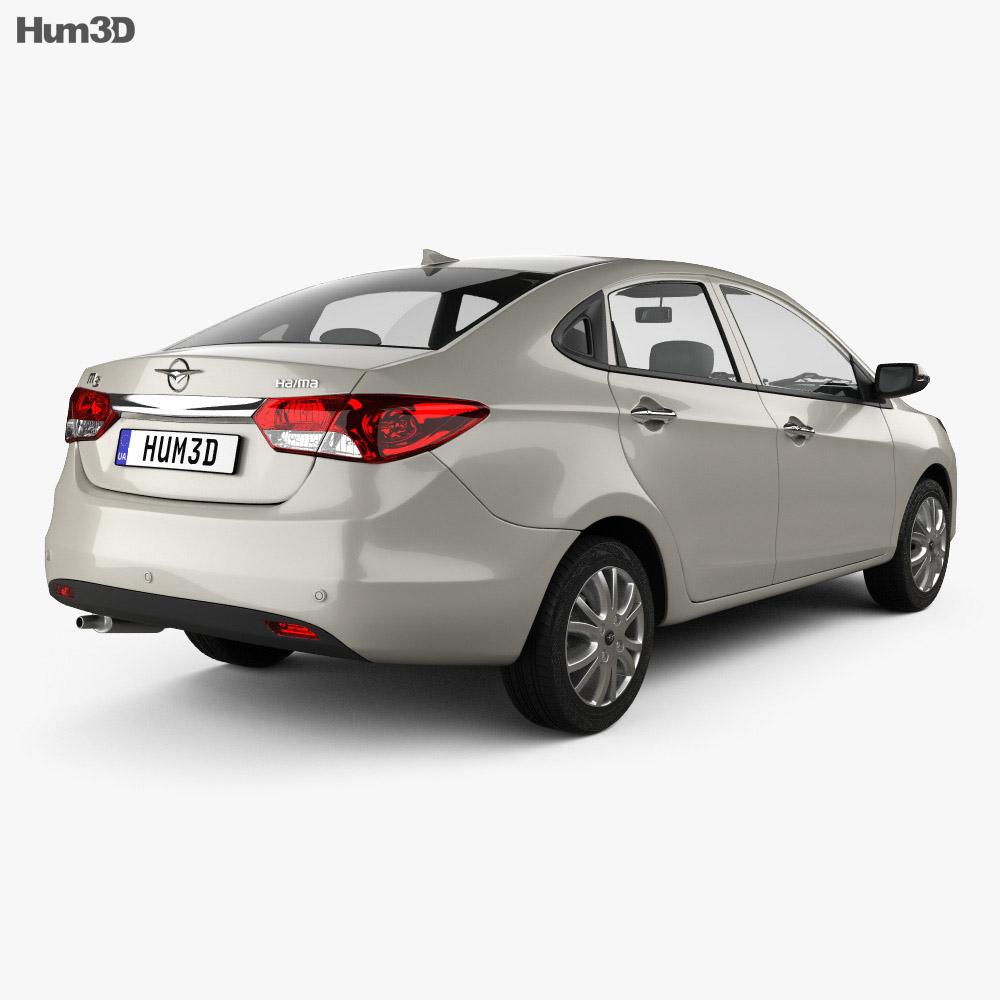 Haima M3 2013 3d model