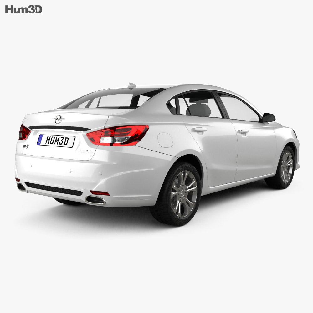 Haima M5 2014 3d model