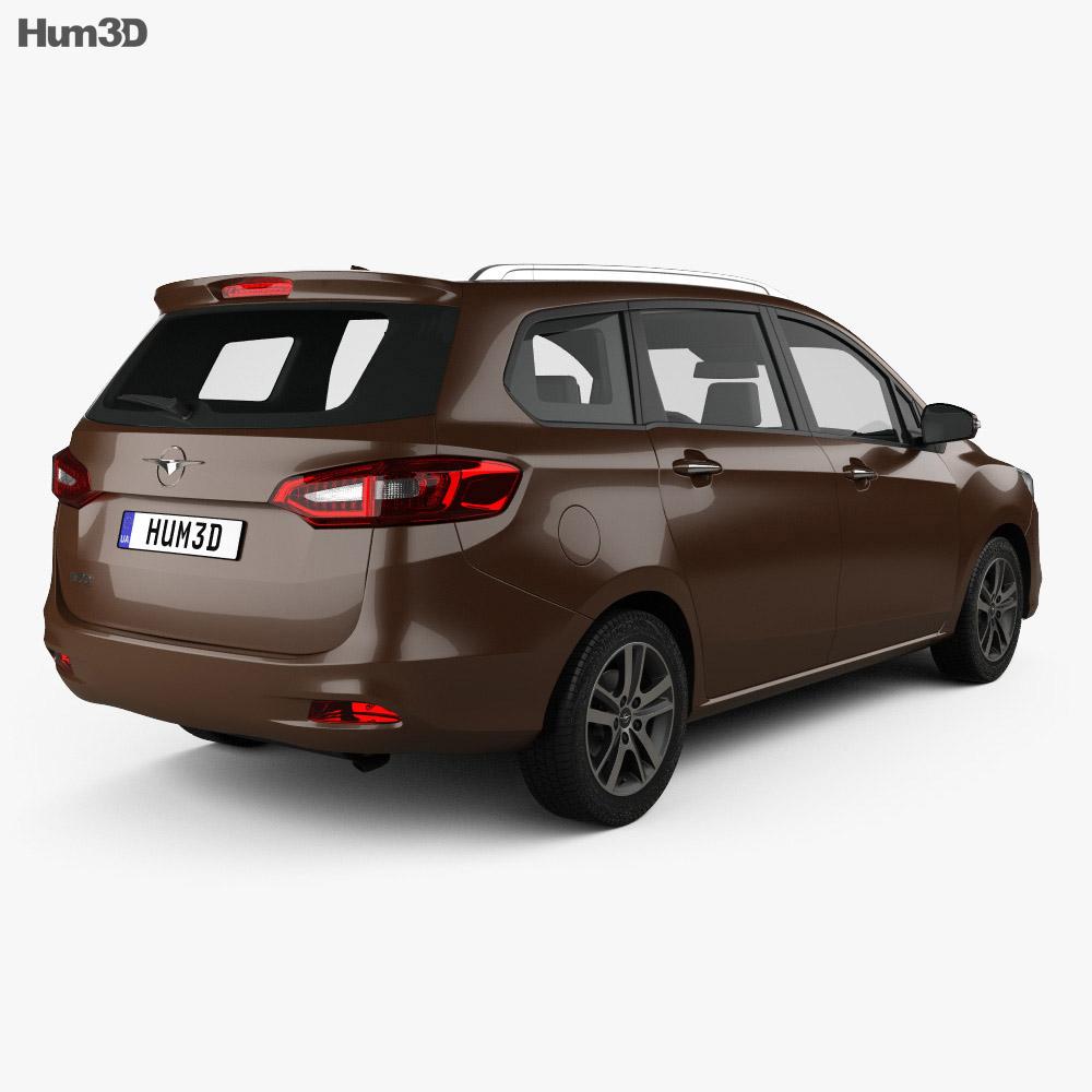 Haima V70 2016 3d model