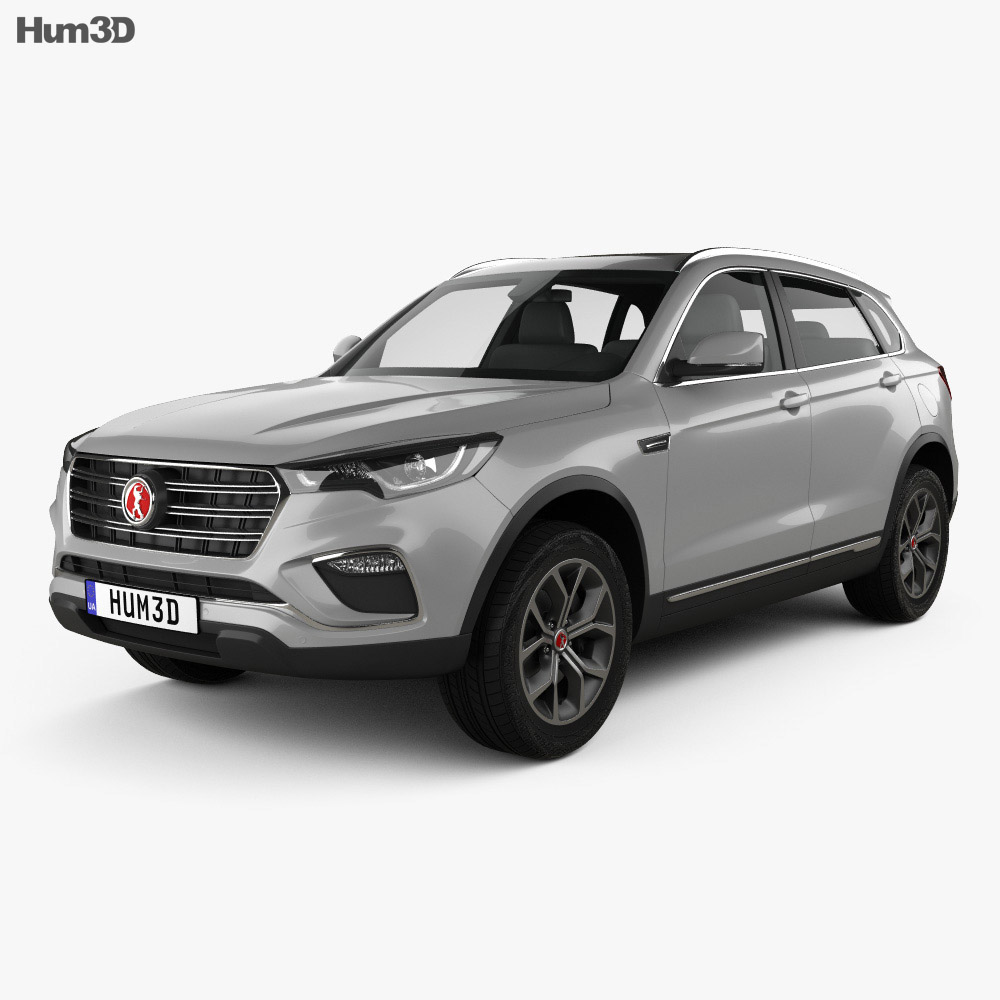 3D model of Hanteng X7 PHEV 2017