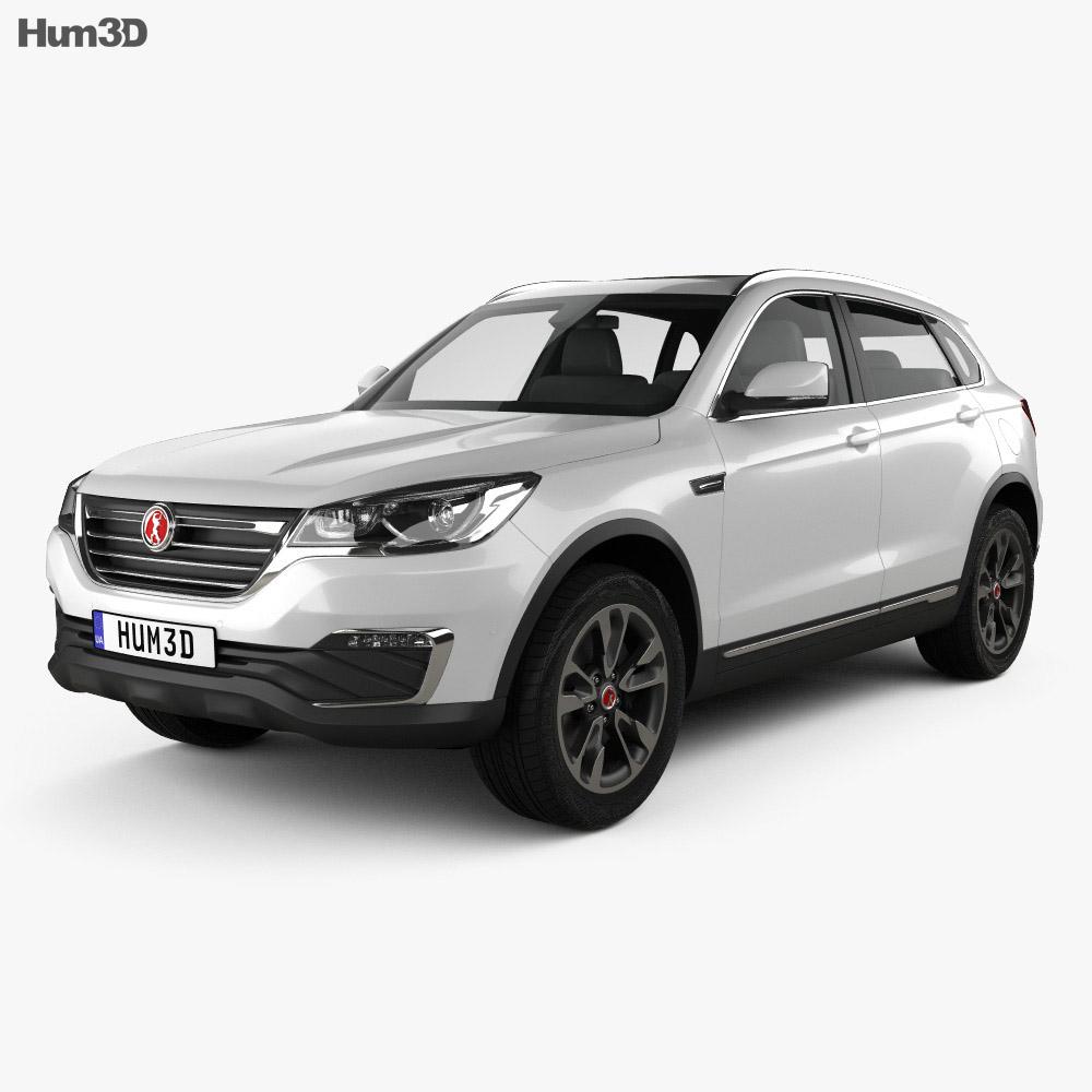 3D model of Hanteng X7 S 2017