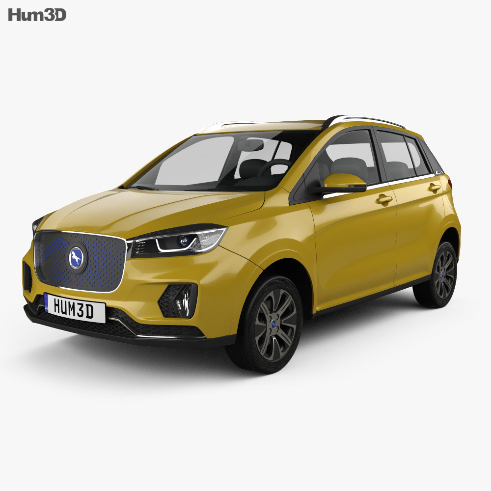 Hanteng Xingfu e plus 2019 3d model