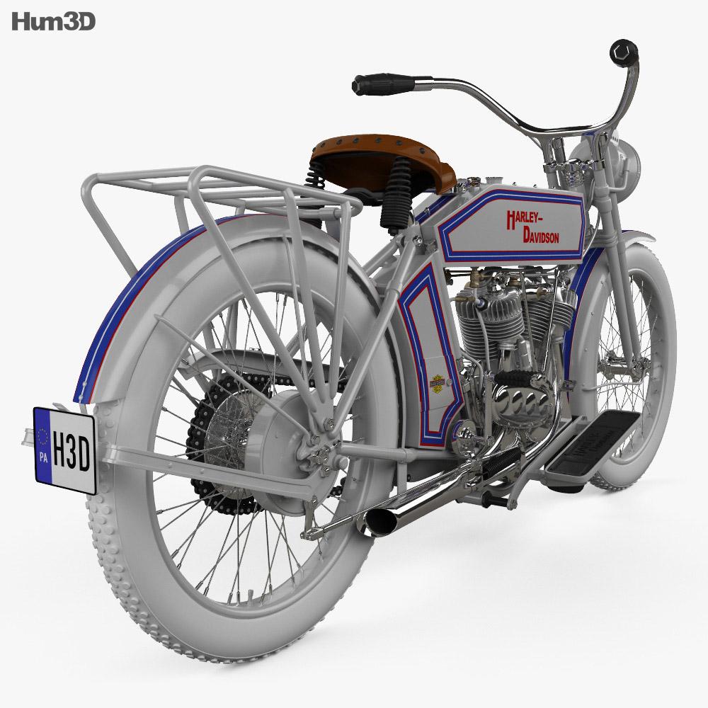 Harley-Davidson 10F 3d model